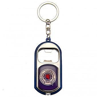 Rangers Key Ring Torch Bottle Opener