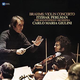 Perlman*Itzhak / Giulini*Carlo Maria - Brahms: Violin Concerto [Vinyl] USA import