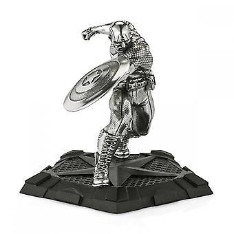 Marvel By Royal Selangor 017939R Captain America First Avenger Figurine