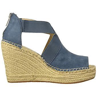 Kenneth Cole New York kvinnor ' s Olivia 2 perf stretch espadrille Wedge sandal,...