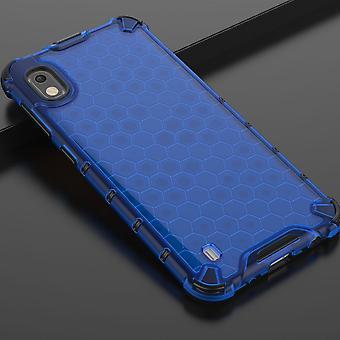 Für Samsung Galaxy A10 A105F Silikon Case Schock Hybrid TPU Schutz Blau Tasche Hülle Cover Etui Zubehör Neu