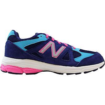 New Balance Running 888 Varsity Blue/Baby Blue-Pink KJ888BPG Grade-School