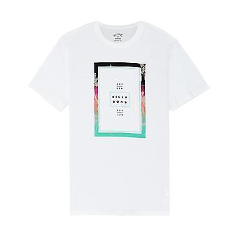 Billabong Tucked Kurzarm T-Shirt in weiß