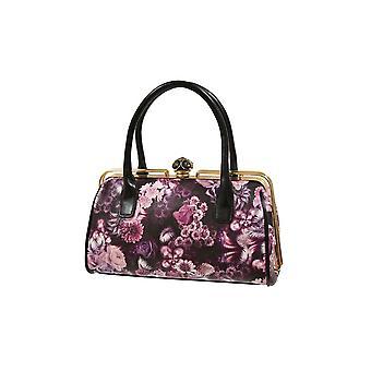 Envy Bags Floral Print Jewel Grab