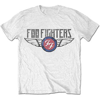 White Foo Fighters Dave Grohl Logo Official T-Shirt