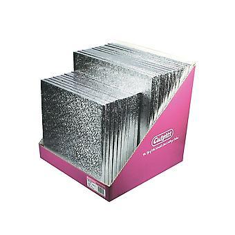 """Culpitt silver Square Cake Board Pack-12 x 12 """"och 10 x 10"""""""