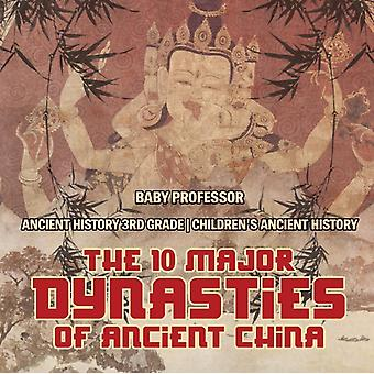 The 10 Major Dynasties of Ancient China  Ancient History 3rd Grade   Childrens Ancient History by Baby Professor