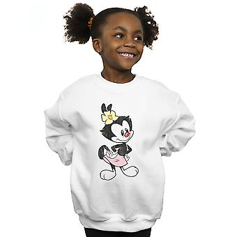Animaniacs Girls Dot Classic Pose Sweatshirt