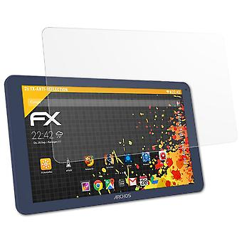 atFoliX Glass Protector compatible with Archos 101c Copper Glass Protective Film 9H Hybrid-Glass