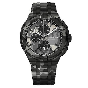 Maurice Lacroix AI1018-PVB02-336-1 Men's Aikon Camouflage LIMITED EDITION Wristwatch