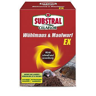 SUBSTRAL® Celaflor® Wühlmaus & Maulwurf EX, 150 g