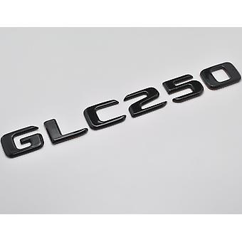 Gloss Black GLC250 Flat Mercedes Benz Car Model Numbers Letters Badge Emblem For GLC Class X253/C253 AMG