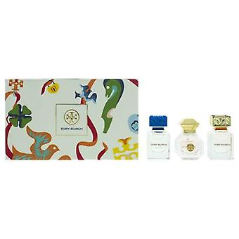 Tory Burch Miniature Fragrance Collection Gift Set - 3 Pieces (This gift set contains:  1 x 7ml Tory Burch EDP 1 x 7ml Love Relentlessly EDP 1 x 7ml Bel Azur EDP)