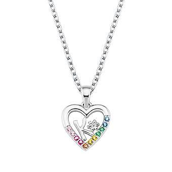 Princess Lillifee Kids Necklace Silver Letter Necklace K Girl 2027884