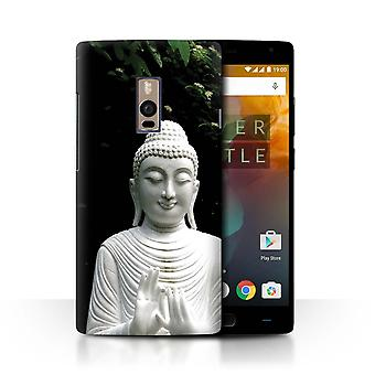 STUFF4 Case/Cover for OnePlus 2/Two/Stone Buddha/Inner Peace