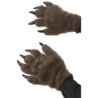 Chlupaté Monster Ruce Hnědá
