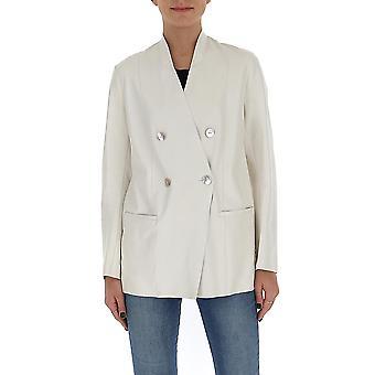 Salvatore Santoro 38026labimilk Women's White Cotton Blazer