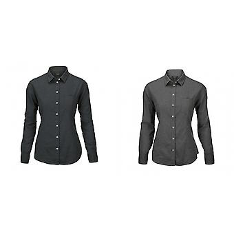 Nimbus Womens/Ladies Calverton Luxury Flannel Long Sleeve Shirt