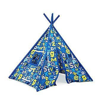 Alphabet Design Huge Children's Play Tent Teepee Wigwam Kids Indoor Den House