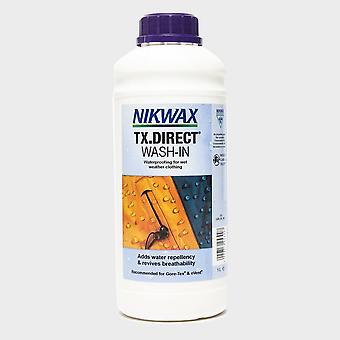 NIKWAX TX. Direct® Wash-In 1L für langlebige Wasserabweisung blau