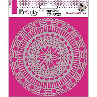 Pronty Crafts Mandala Circle 6x6 Pouces Pochoir