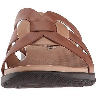 SoftWalk Womens Thompson Leather Open Toe Casual Platform Sandals