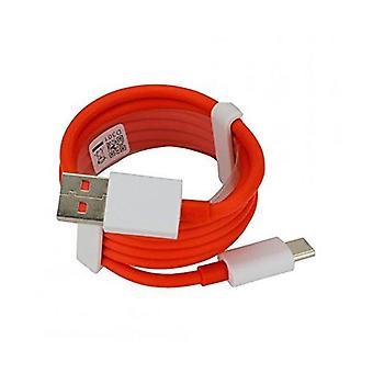 Äkta OnePlus 3 Dash-kabel 4A 1m D301 USB typ C för att skriva en Data Sync Laddkabel för OnePlus 3/3T/5/5T/6/7/7T