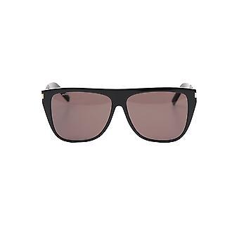Saint Laurent 560030y99011000 Men's Black Acetate Sunglasses