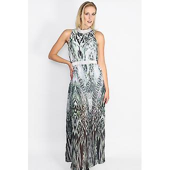 Sally printed maxi dress