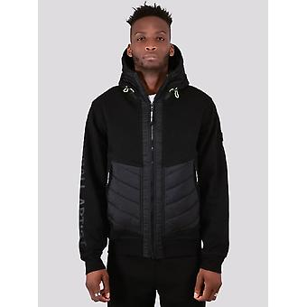 Marshall Artist Alpine Full Zip Hooded Jacket - Black