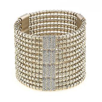 Giora' Jewels Roman Empire Bracelet Made in Bronze with Swarovski Crystal