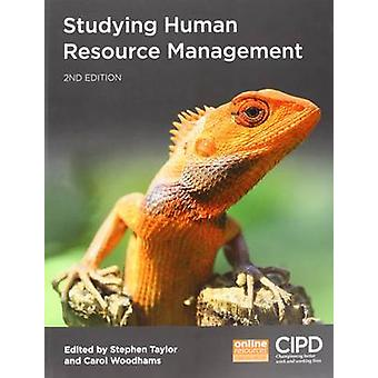 Studying Human Resource Management by Stephen Taylor - 9781843984153