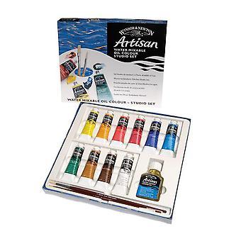 Winsor & Newton Artisan Water Mixable Oil 10 x 37ml Studio Set