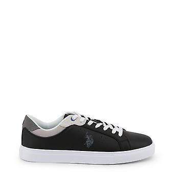 Man leather sneakers shoes ua47927