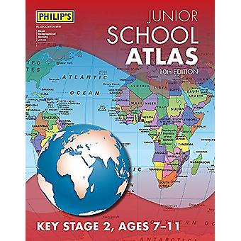 Philip's Junior School Atlas 10e editie door Philip's Maps - 97818490