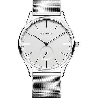 Bering hombre reloj de pulsera clásico - 16641-004 banda de malla