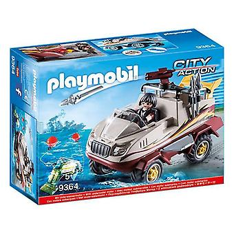 Amphibian Car City Action Playmobil 9364 (11 pcs)