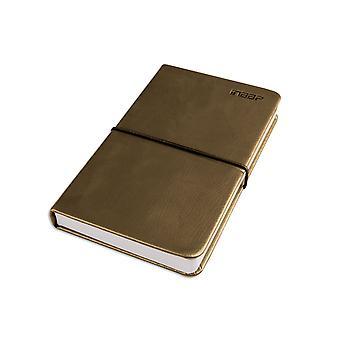 PU Leather Blank Diary Journal Sketchbook Notebook Classic[Dark Green,Basic]