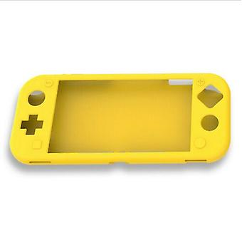 For Nintendo Switch Lite Soft Silicone Full Body Shock Protective Case Cover [Yellow]