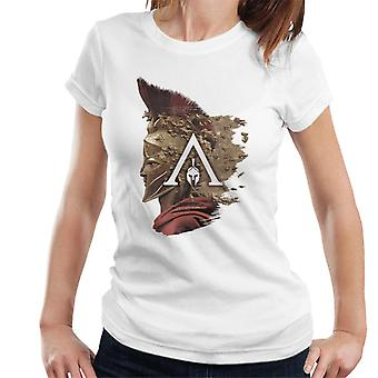 Assassin's Creed Alexios Map Montage Women's T-Shirt