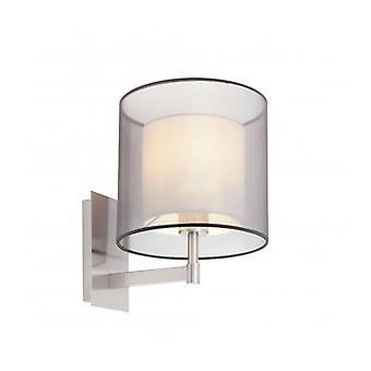 Saba Matte Wall Light 1 Bulb