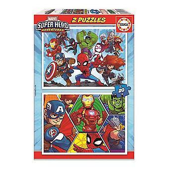 Puzzle Marvel Educa (20 pcs)