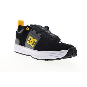 DC Lynx OG  Mens Black Suede Lace Up Skate Sneakers Shoes