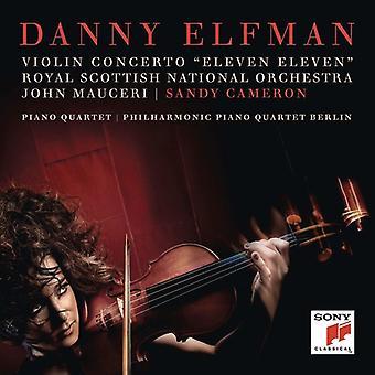 Violin Concerto (Eleven Eleven) / Piano Quartet [CD] USA import