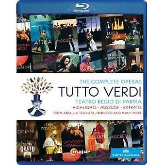 G. Verdi - Tutto Verdi Highlights [BLU-RAY] USA import