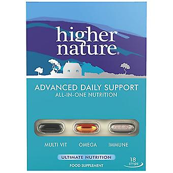 Higher Nature Advanced Daily Support Strips 18 (QANP18)