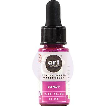 Art Philosophy Concentrated Watercolor Candy
