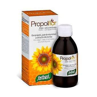 Propolflor فورت شراب 200 مل (أوكالبتوس - الليمون - العسل - التفاح)