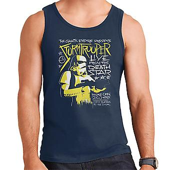 Star Wars Live From The Death Star Men's Vest