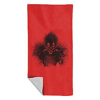 Deathnote Ryuk Shinigami Sketch Beach Towel